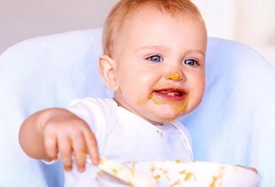 Кукурузная каша на воде для ребенка