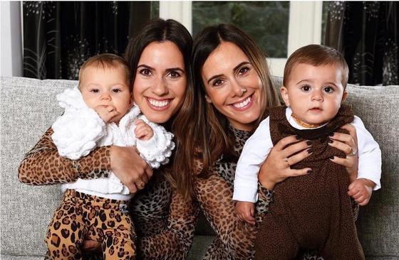 Близняшки забеременели и родили почти одновременно
