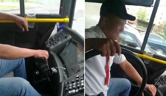 Ехал без руля: водитель автобуса в Астане внесен в «черный список»