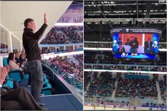 """Трибуны выли и хлопали стоя: Головкин """"взорвал"""" Барыс-арену в Астане (видео)"""