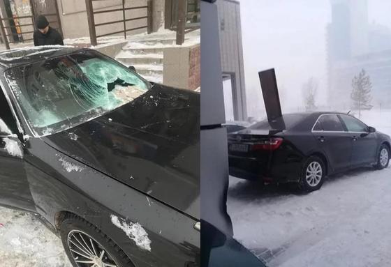 Астанадағы ақтүтек боранның салдары: 79 адам мен 80 көлік зардап шеккен