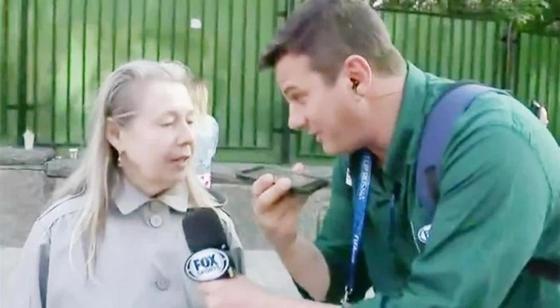 """Бабушка из России """"взорвала"""" эфир бразильского телевидения"""