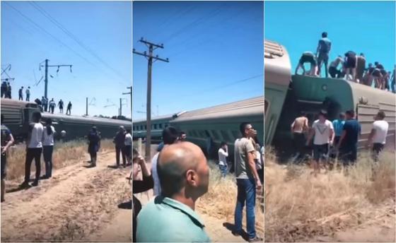 Пассажирский поезд Астана – Алматы сошел с рельсов: Есть пострадавшие