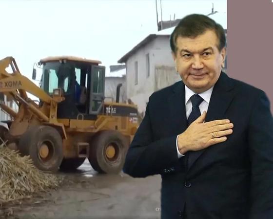 Өзбекстан президенті ең нашар ауылды 45 күнде жайнатып жіберді. Фото: NUR.KZ