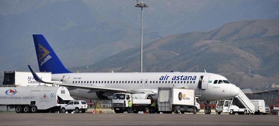 Пассажирка устроила скандал на борту Air Astana