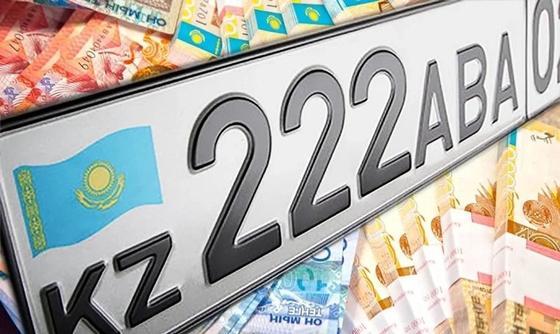 Алматинцы накупили «крутых» номеров почти на 70 млн тенге за месяц