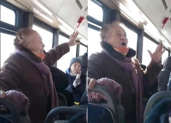 Астанчанка с чувством спела про Назарбаева и Астану (видео)