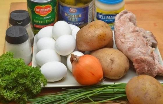 Французский салат: рецепт классический