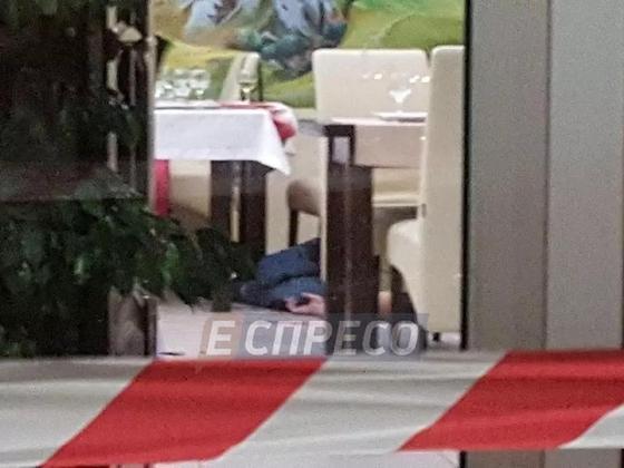 Киевский ресторатор расстрелял посетителей (фото, видео)