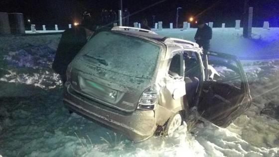 Столкновение поезда и авто в Павлодарской области: есть погибший