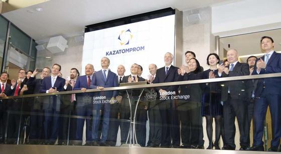 Торги по акциям «Казатомпрома» стартовали на Лондонской фондовой бирже