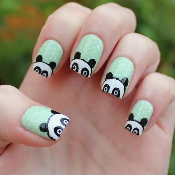 Идеи летнего маникюра на короткие ногти
