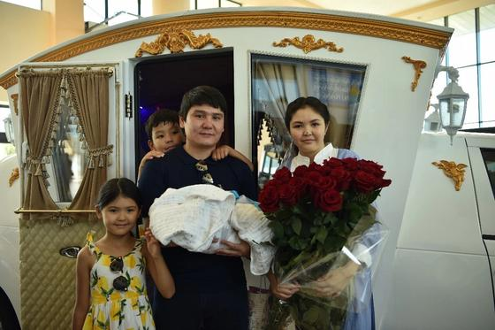 Певец Бейбит Корган в третий раз стал отцом (фото)
