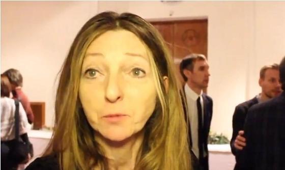 "Глава ювелирного дома ""Фаберже"" Сара Фаберже. Скриншот видео «Royal Catering»"