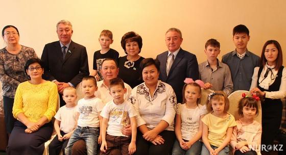 Загипа Балиева посетила детский дом семейного типа в Алматинской области