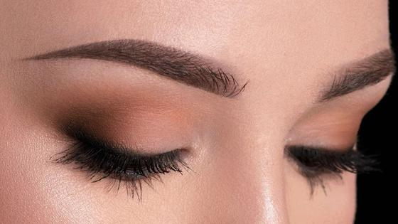 Вечерний макияж глаз