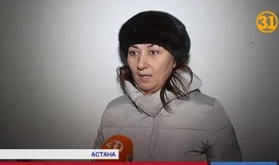 47-летняя женщина осталась на улице в Астане