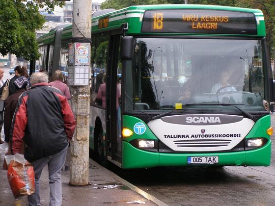 Общественный транспорт в Эстонии станет полностью бесплатным