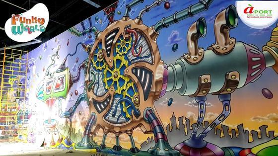 Уникальный парк «Funky world» откроется в Алматы