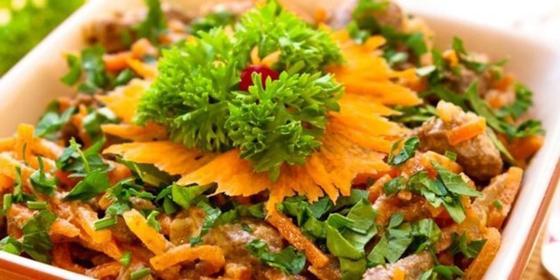Легкие салаты без майонеза на Новый год