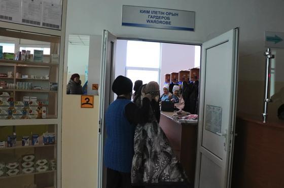 Как корреспондент Nur.kz скрининг проходил (фото)