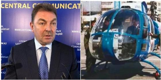 Историю с купленными Храпуновым вертолетами прокомментировали в МВД