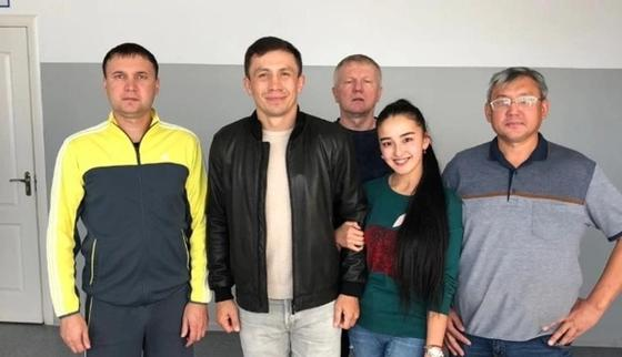 Головкин посетил Караганду (фото)