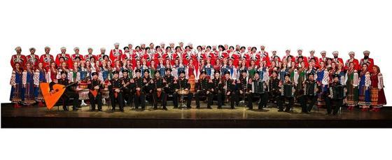 Знаменитый Кубанский хор в Астане