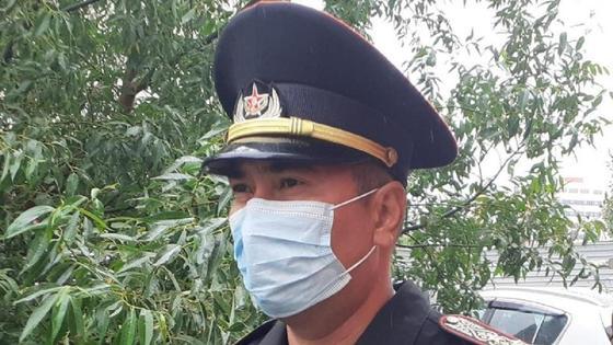 Полковник Ихтымбаев Батыржан Нуржуманович