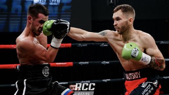 Боксеры Руслан Камилов и Станислав Калицкий