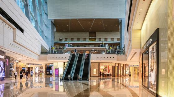 Помещение торгового центра