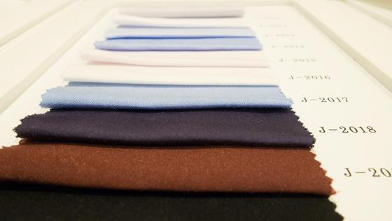 Разноцветные образцы тканей
