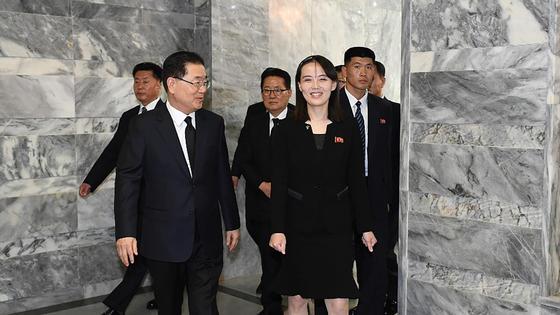 Ким Е Чжон, сестра Ким Чен Ына