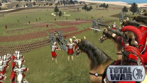Кадр из игры Total War