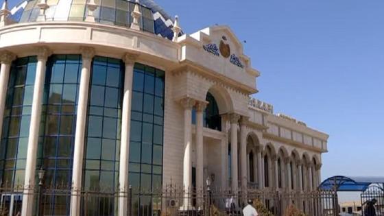 Здание школы в Шымкенте