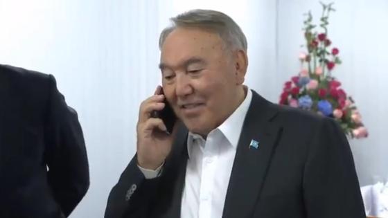 Ердоған Назарбаевқа телефон шалды