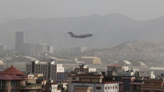 Самолет над Кабулом
