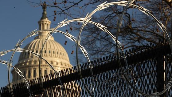 Ограждения в Вашингтоне