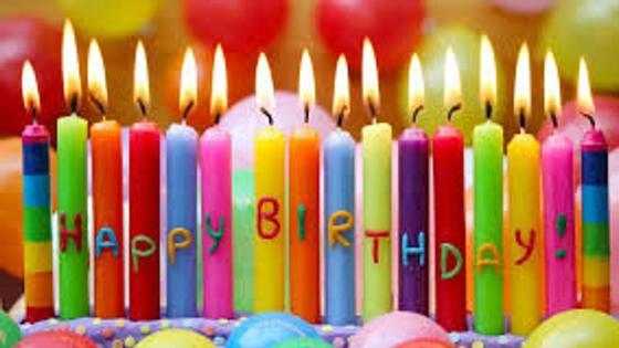 свечи ко дню рождения