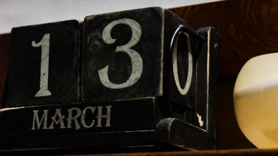 13 march