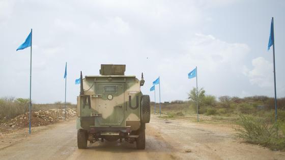 Военные в Сомали