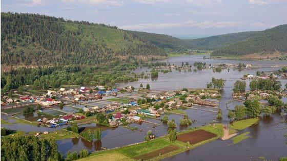 Паводки в Иркутской области