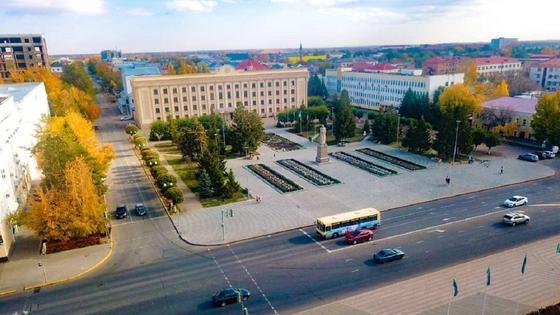 Панорама Уральска