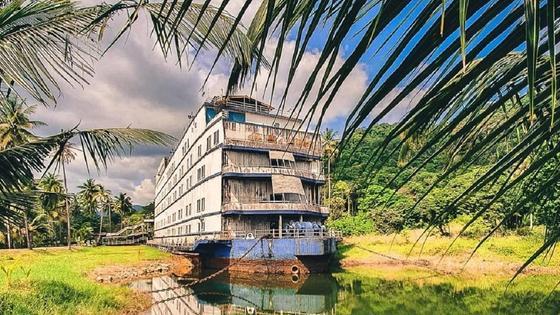 Корабль-призрак в Таиланде