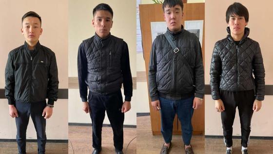 задержанные подозреваемые