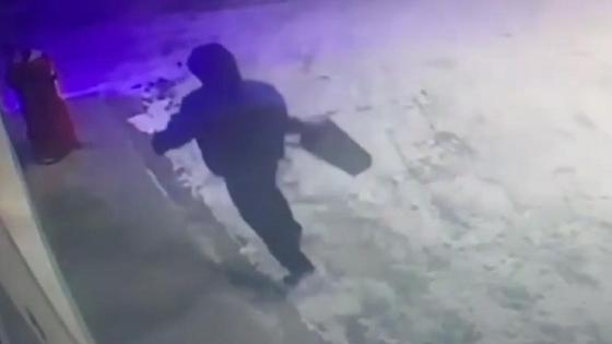Ограбление АЗС в Петропавловске