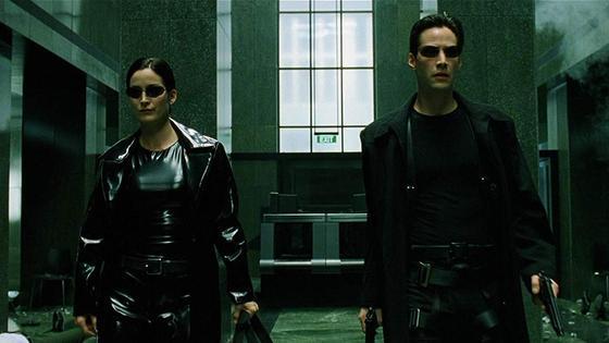 Кадр из фильма «Матрица»