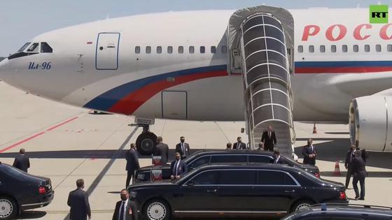 Владимир Путин прибыл в Женеву