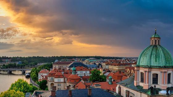 Чехия, панорама