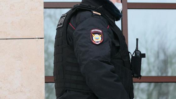 Полицейский на улице